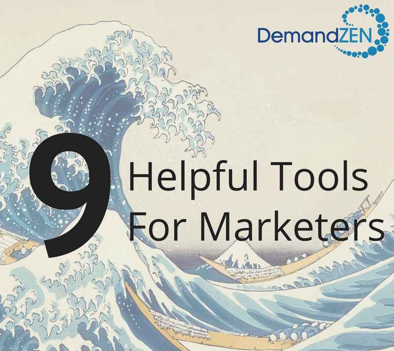 9 Helpful Tools for Marketers