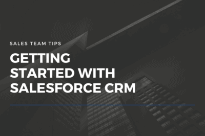 Blog - getting started with salesforce