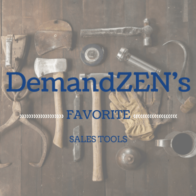 DZ blog - DemandZEN's favorite sales tools