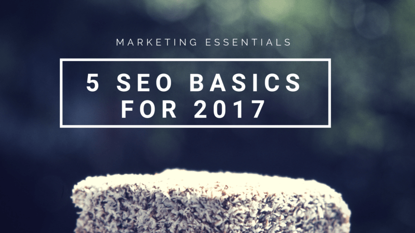 5 seo basics for 2017