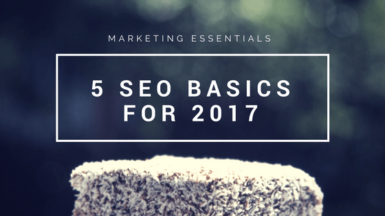 5 SEO Basics for 2017 you need to Know