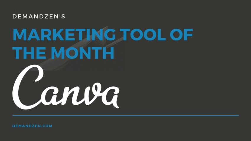 canva marketing tool of the month