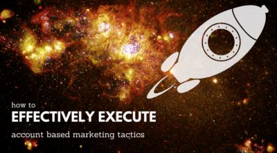 Account Based Marketing Tactics - DemandZEN blog
