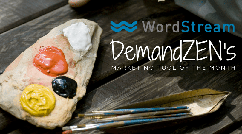 wordstream - marketing tool of the month