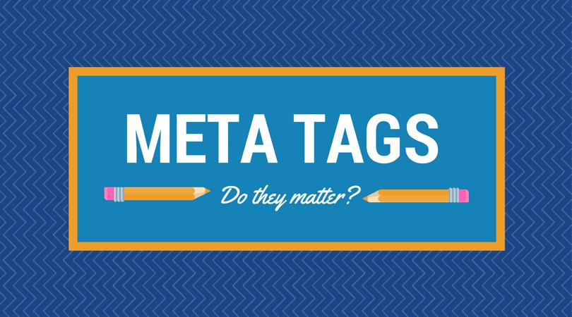 do meta tags matter