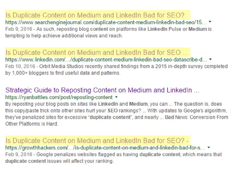 DemandZEN - duplicate content example