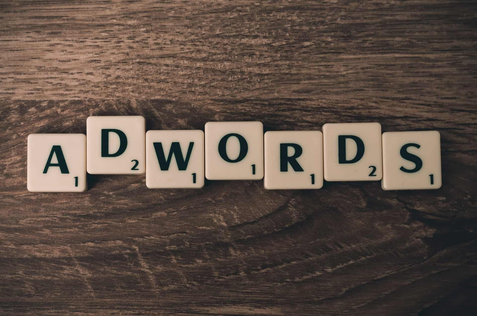 """Google's PPC advertising service is called """"AdWords"""""""