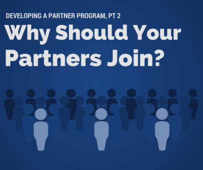 Partner Program pt 2 - join
