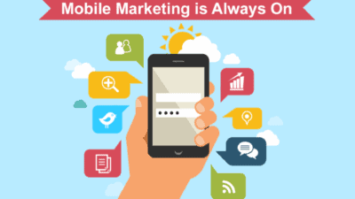 mobile marketing is the new black