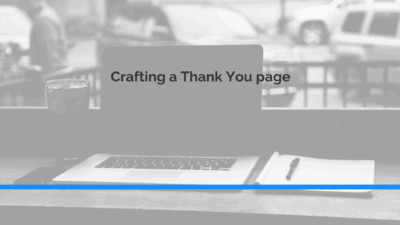 marketing how to craft a thank you page