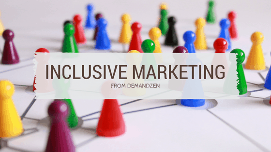Inclusive Marketing image colorful