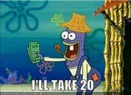 better salesman - Spongebob