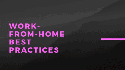 work from home best practices dz blog